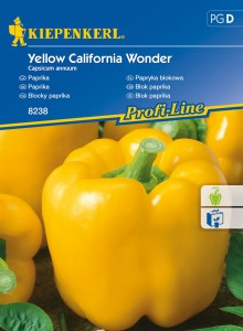 "Żółta papryka ""Yellow California Wonder"""